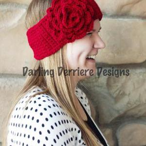 PDF Rose Flower Head wrap Pattern n..