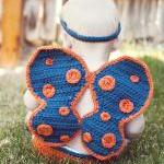 Crochet Butterfly Wings, Diaper Cov..