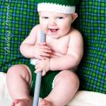 Golf Hat and Diaper Cover Crochet P..