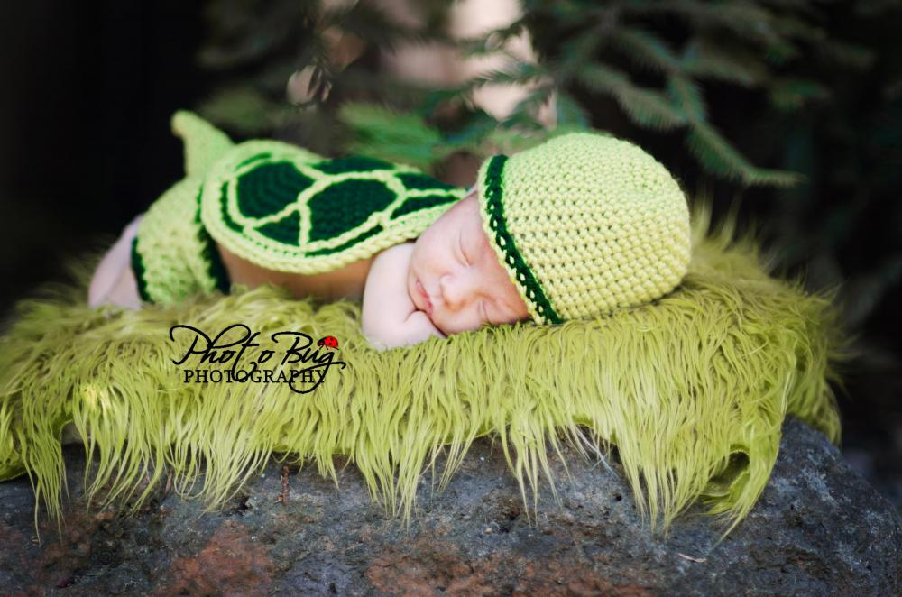 Turtle Shell Hat And Diaper Cover Crochet Pattern On Luulla