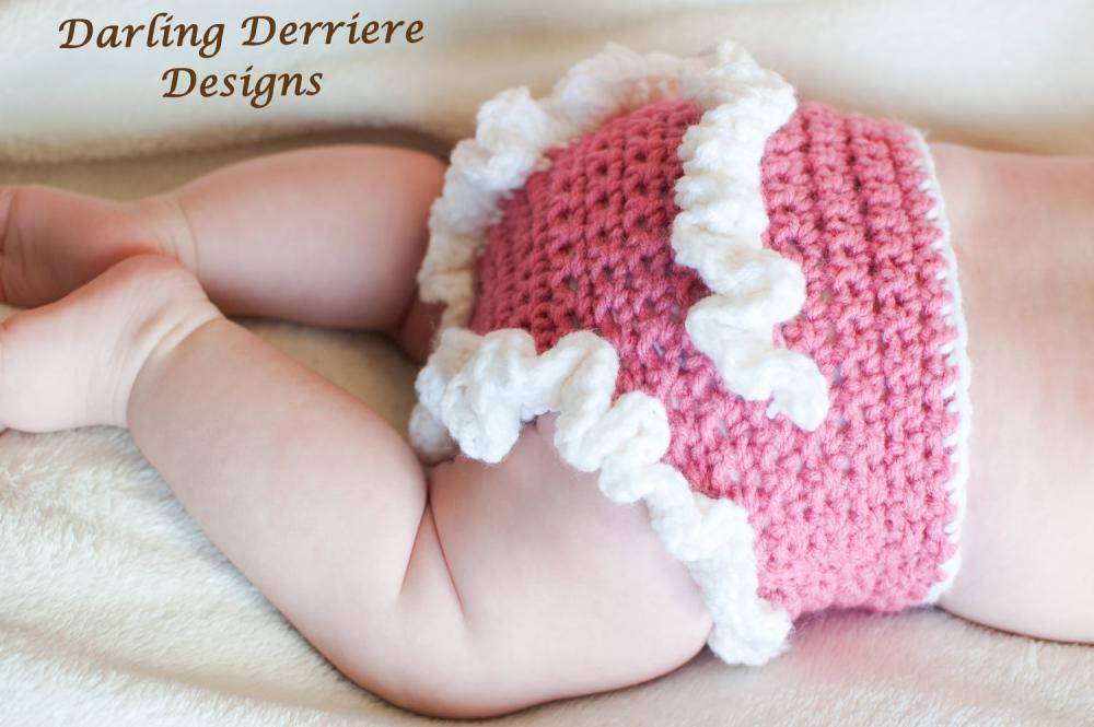 Ruffle Diaper Cover Crochet Pattern on Luulla