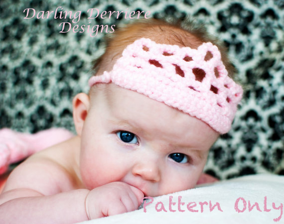 Crown Crochet Pattern On Luulla