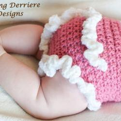 Ruffle Diaper Cover Crochet Pattern
