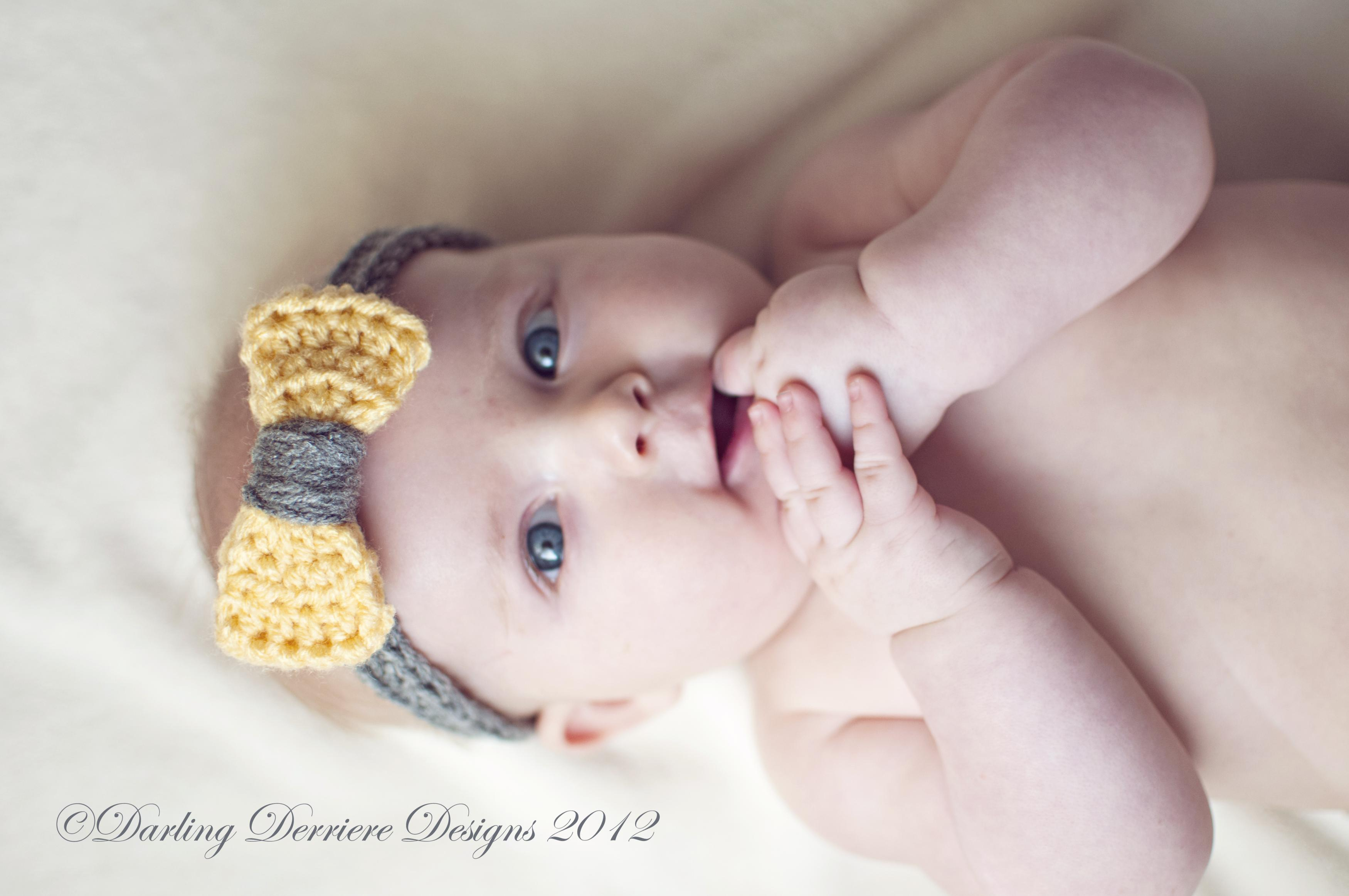 Crochet Bow Headband Pattern On Luulla